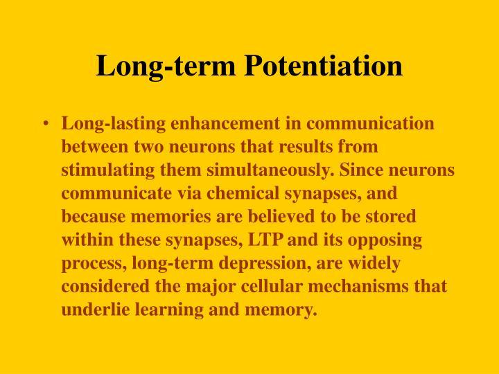 Long-term Potentiation