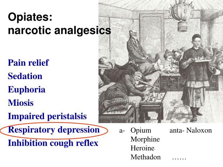 Opiates: