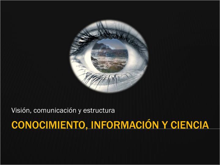 Visión, comunicación y estructura