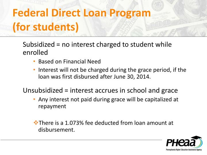 Federal Direct Loan Program
