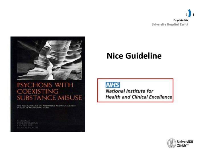 NICE Guideline