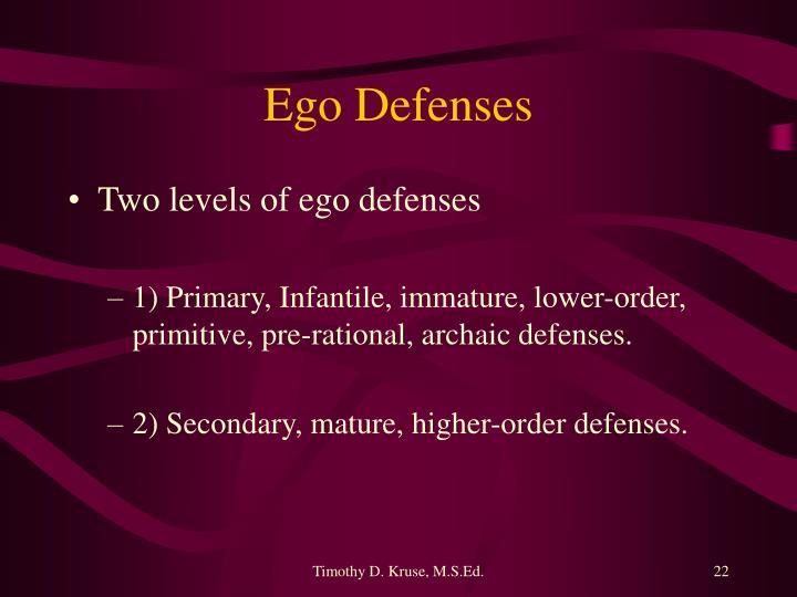 Ego Defenses
