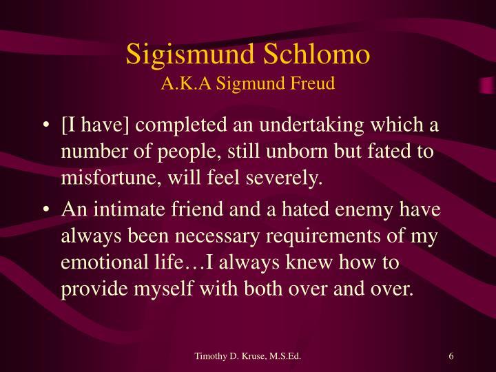 Sigismund Schlomo