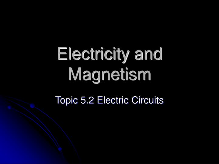 electrical presentation topics Seminar topics on electrical engineering listed here gives best ideas for eee students on selecting new topics for seminar download seminar topic and abstract.