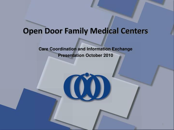 Open Door Family Medical Centers