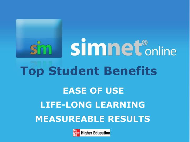 Top student benefits