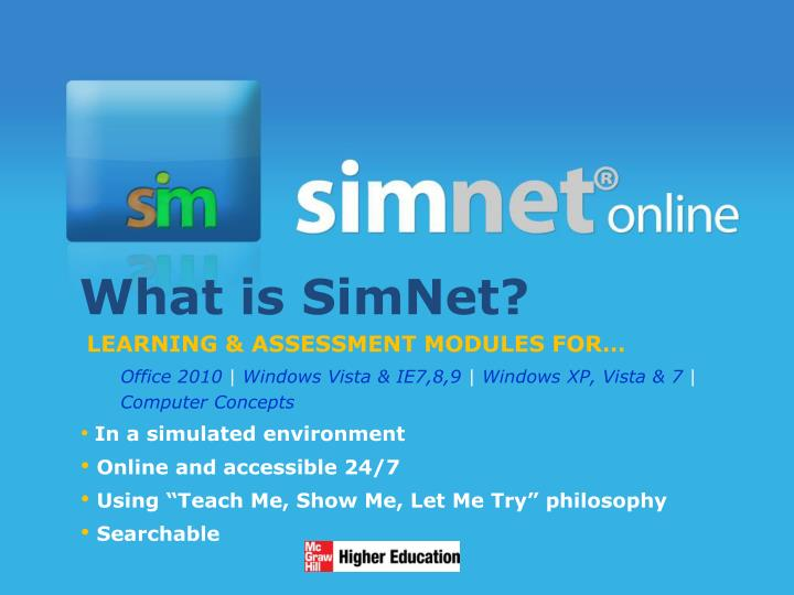 What is simnet