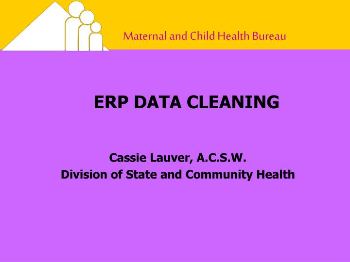 ERP DATA CLEANING