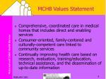 mchb values statement2