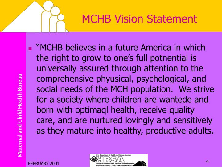 MCHB Vision Statement