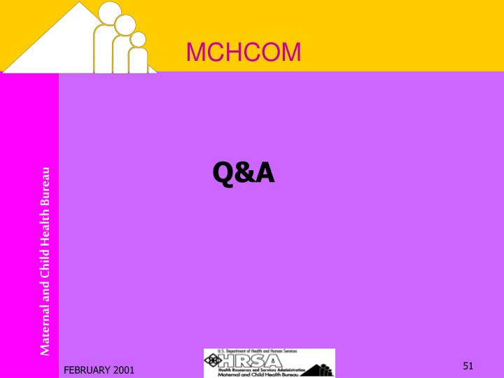 MCHCOM