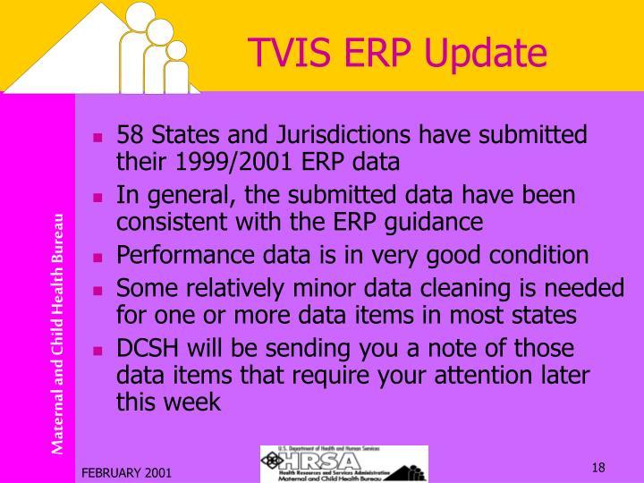 TVIS ERP Update