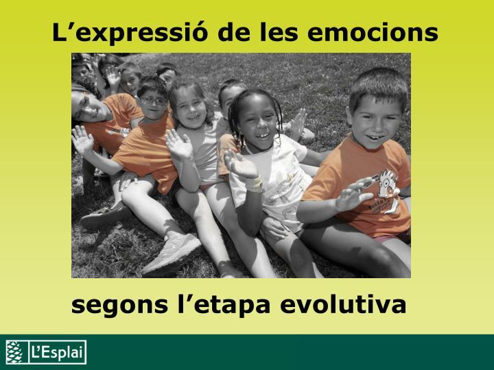 L'expressió de les emocions