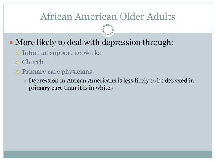 African American Older Adults