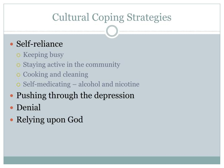 Cultural Coping Strategies