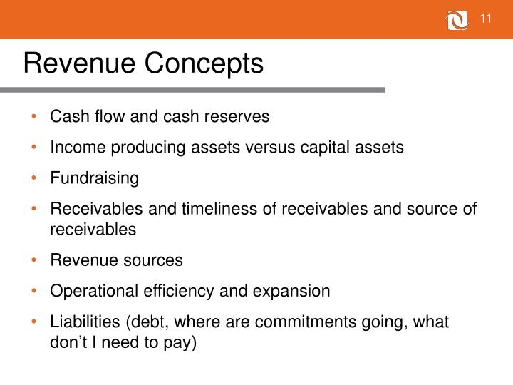 Revenue Concepts