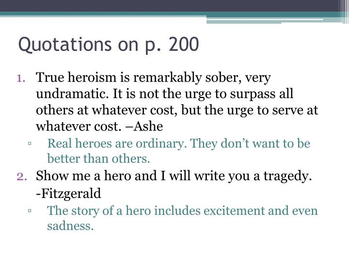 Quotations on p 200