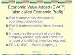 economic value added eva tm also called economic profit
