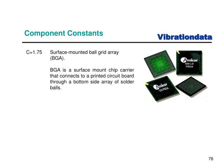Component Constants