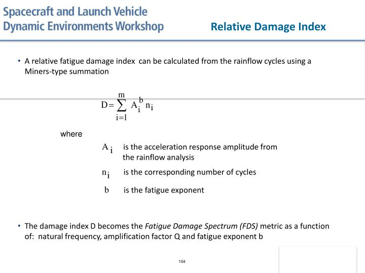 Relative Damage Index