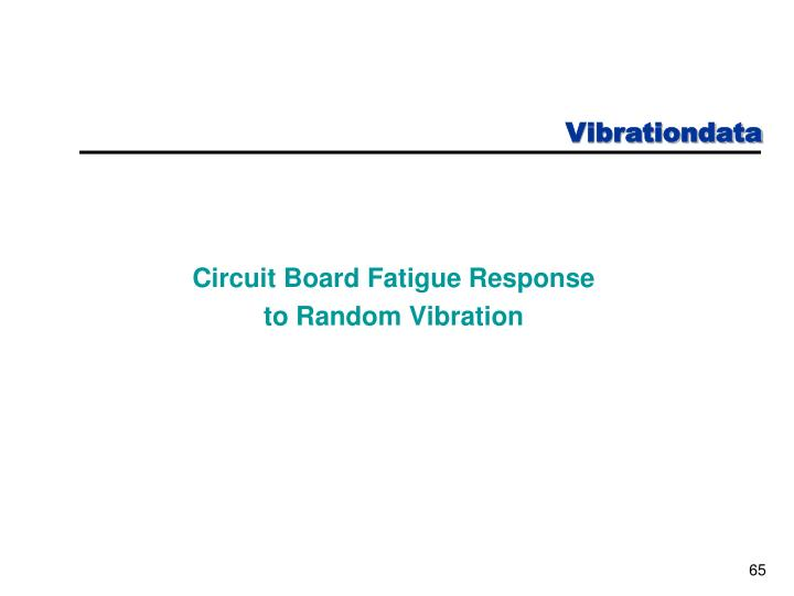 Circuit Board Fatigue Response