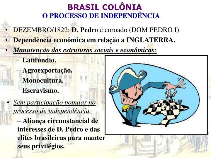 DEZEMBRO/1822: