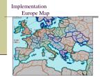 implementation europe map