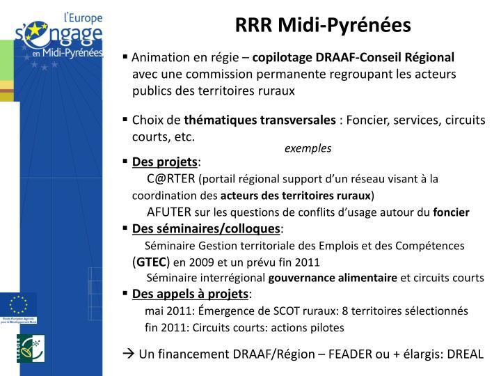 RRR Midi-Pyrénées