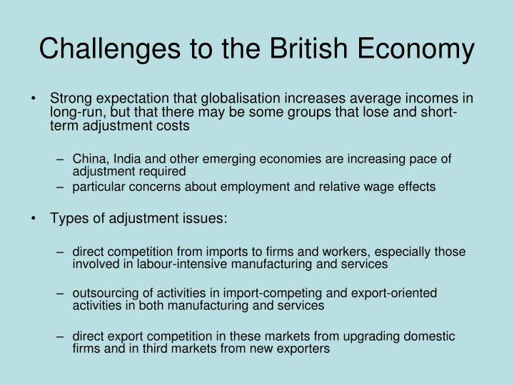 Challenges to the British Economy