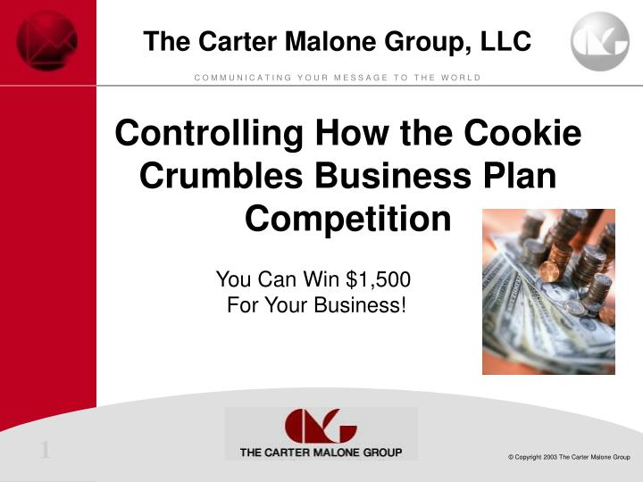 cookie business plan