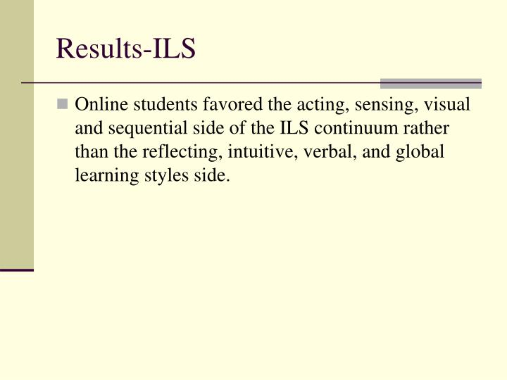 Results-ILS