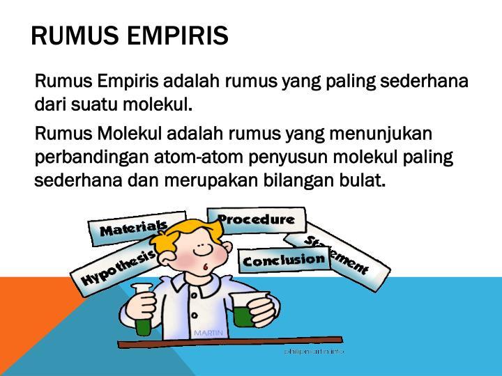 Rumus empiris
