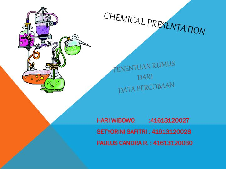 CHEMICAL PRESENTATION
