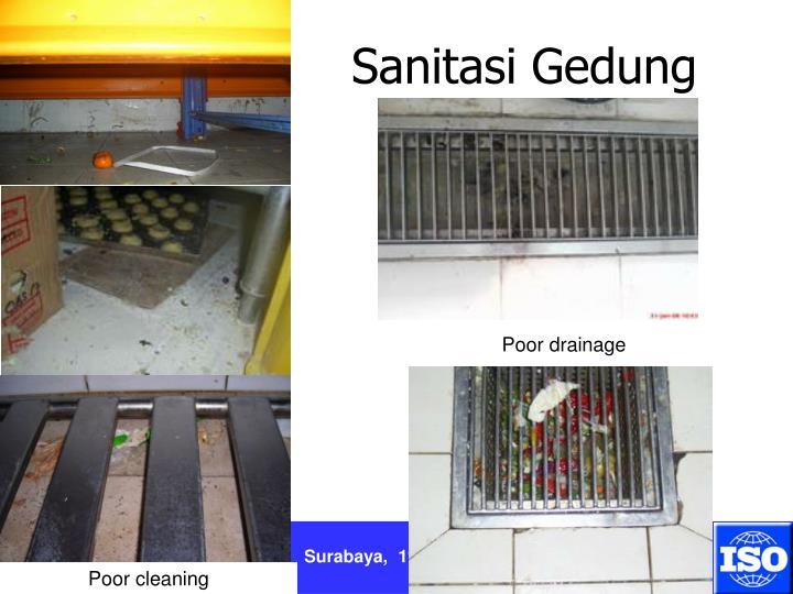 Sanitasi Gedung