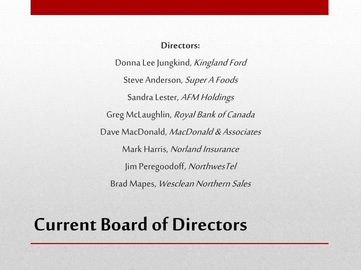 Directors: