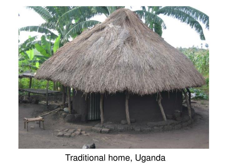 Traditional home, Uganda