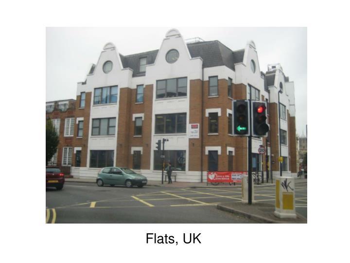 Flats, UK