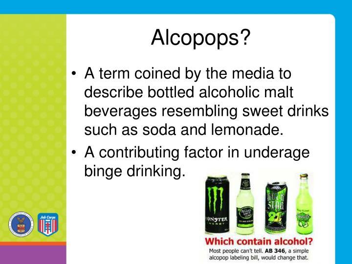 Alcopops?