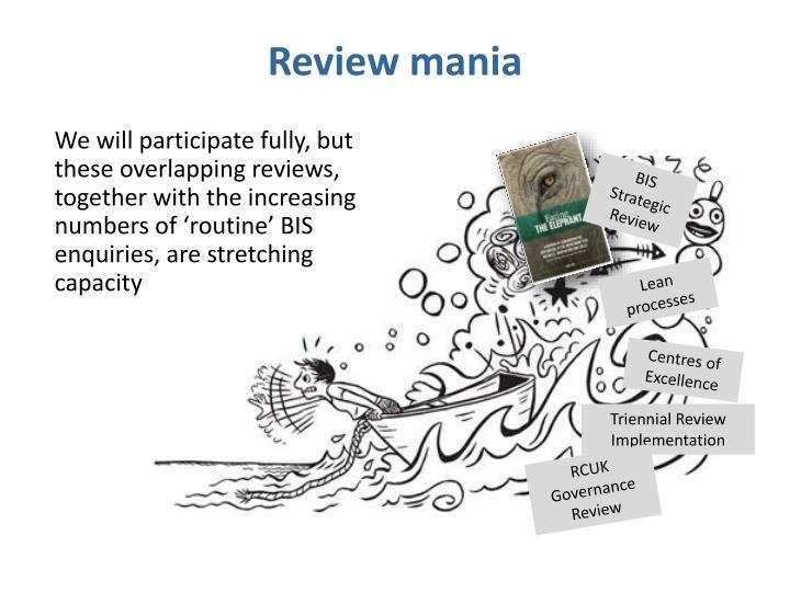 Review mania