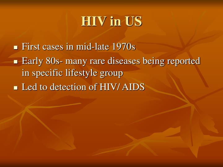 HIV in US