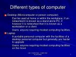 different types of computer2