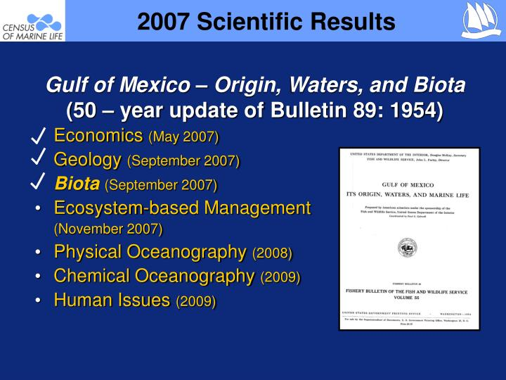 2007 scientific results1