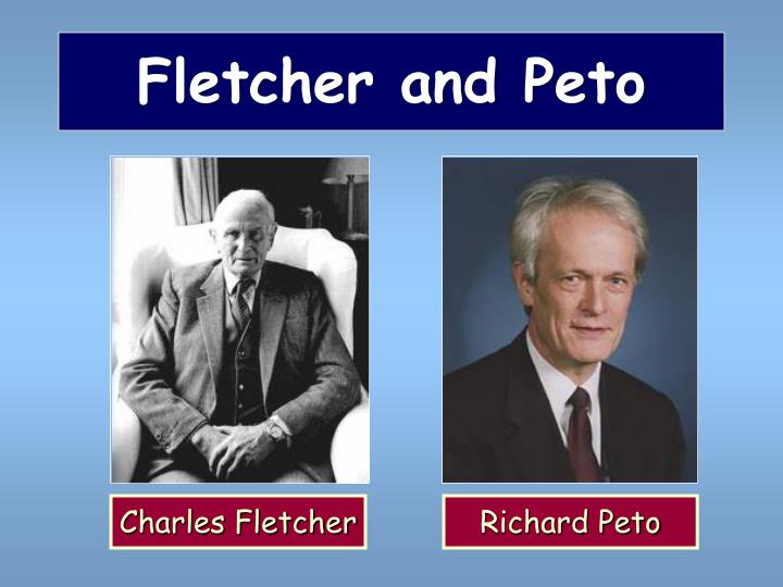 Fletcher and Peto
