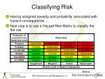 classifying risk