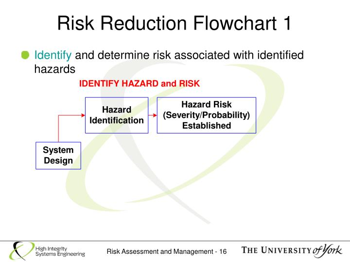 Risk Reduction Flowchart 1
