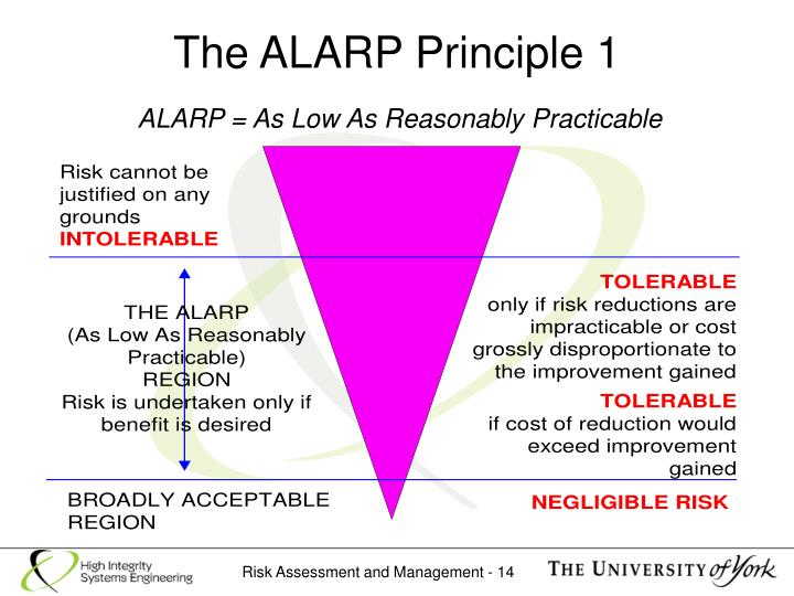 The ALARP Principle 1