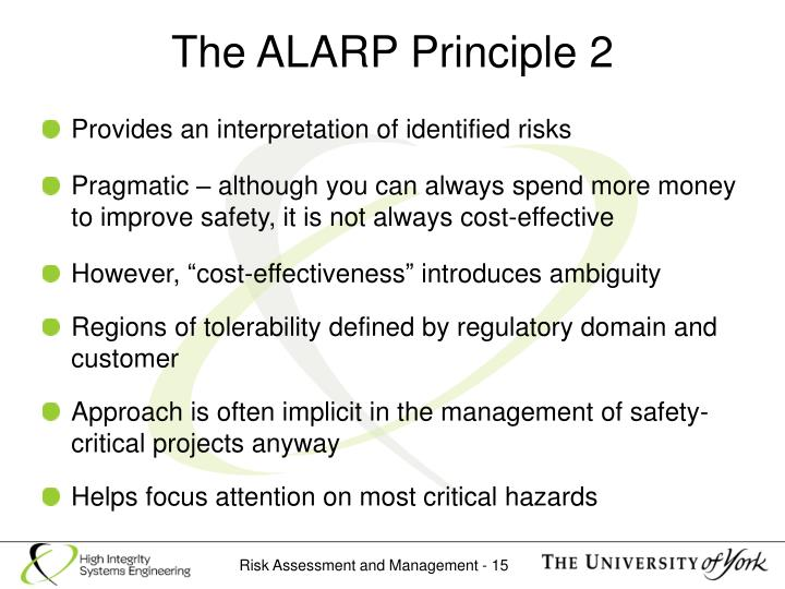 The ALARP Principle 2