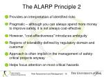 the alarp principle 2