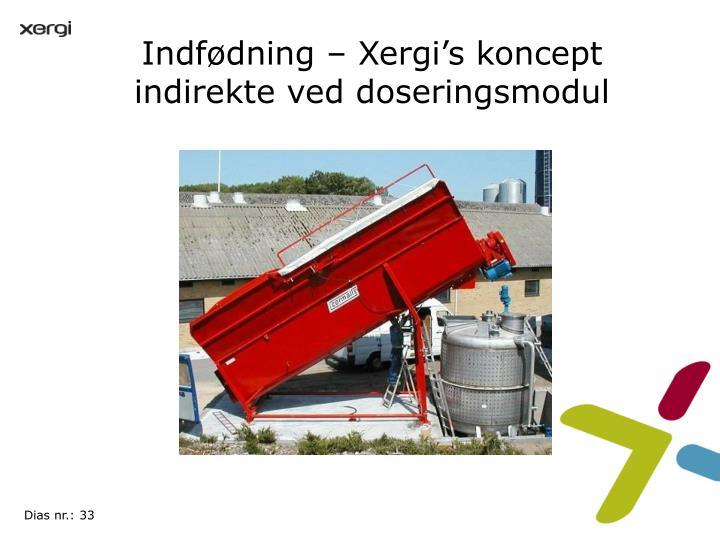 Indfødning – Xergi's koncept