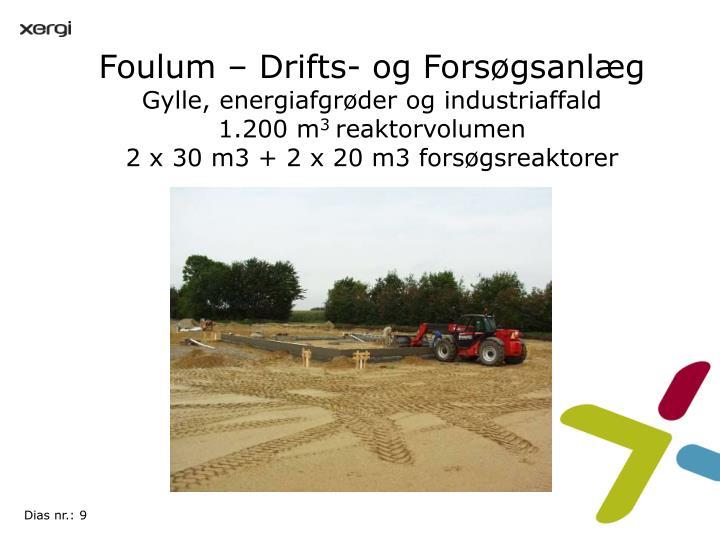 Foulum – Drifts- og Forsøgsanlæg